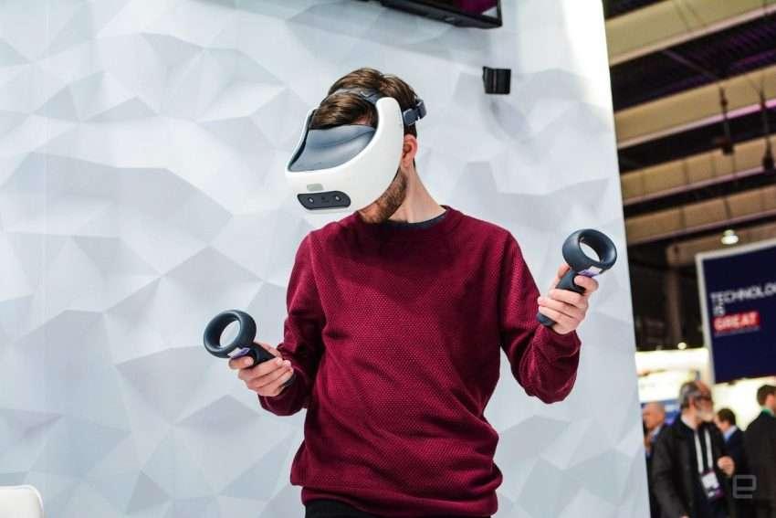 صورة HTC تعلن موعد طرح خوذتها للواقع الافتراضي