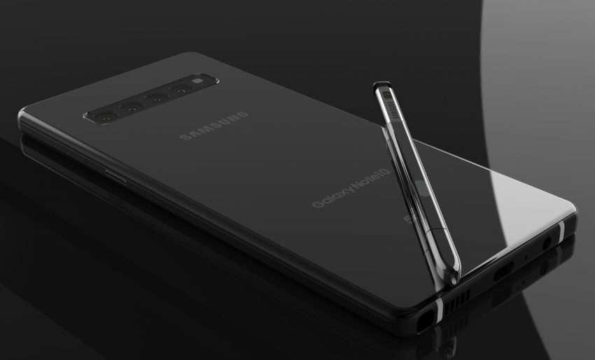 صورة سامسونج تطور نسخة صغيرة من Note 10