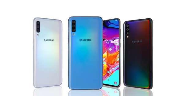 صورة Samsung Galaxy A70S أول هاتف سيحمل كاميرا بدقة 64MP