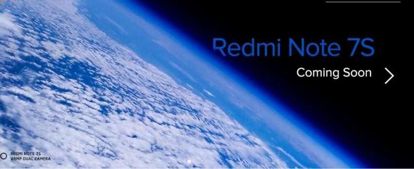 ريدمي تعلن عن هاتفها الجديد Redmi Note 7S