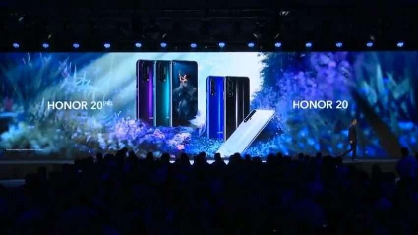هونور تعلن عن سلسلة هواتفها الجديدة Honor 20