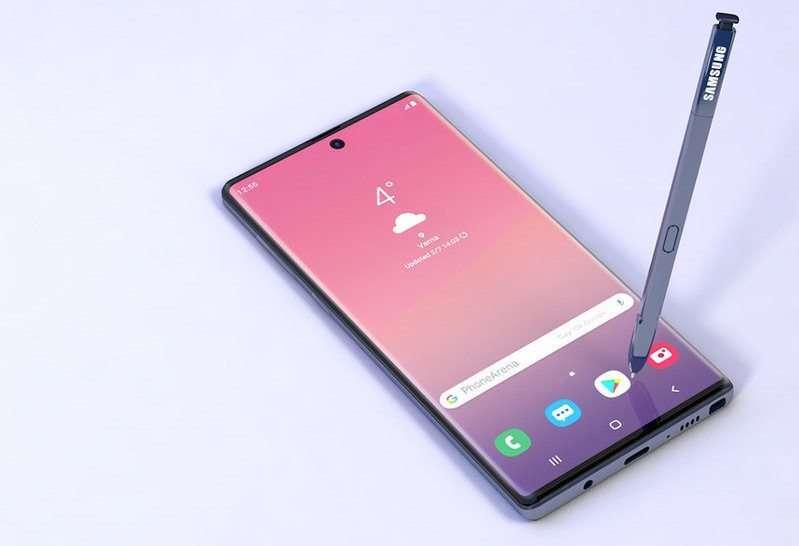 صورة تسريبات جديدة حول هاتف Galaxy Note 10 و Galaxy Note 10 Pro