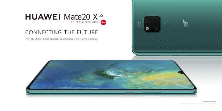 صورة رسميًا: هواوي تطلق أول هاتف بتقنية الجيل الخامس