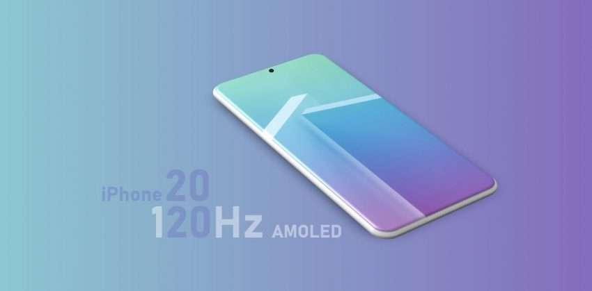 آبل تتجه لتحسين معدل تحديث شاشات ايفون 2020