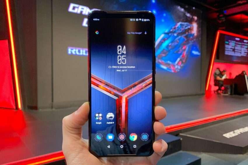 صورة اسوس تكشف عن هاتفها الجديد Asus ROG Phone 2