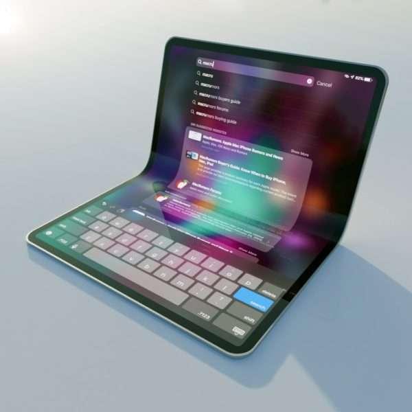 صورة آبل تستعد لاطلاق iPad قابل للطي العام القادم