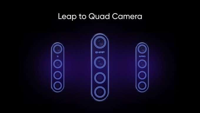 صورة ريلمي تعد باطلاق 3 هواتف بكاميرا رباعية بحلول أكتوبر