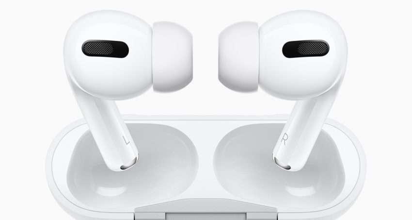 صورة سماعات ابل الجديدة AirPods Pro الكشف رسميا عنها