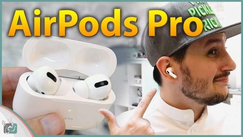 سماعات ابل الجديدة ايربودز برو AirPods Pro   معاينة مفصّلة وتجربة السقوط
