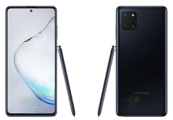 صورة جالكسي نوت 10 لايت Galaxy Note 10 Lite | بكاميرا خلفية في مربع