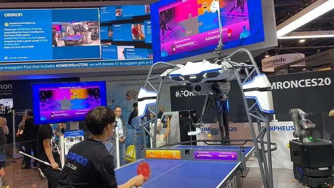 صورة روبوت ياباني يخسر أمامك لكي تشعر بالسعادة – معرض CES 2020