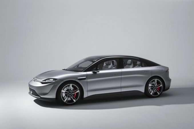 صورة سوني فيجن اس | سيارة كهربائية من سوني – معرض CES 2020