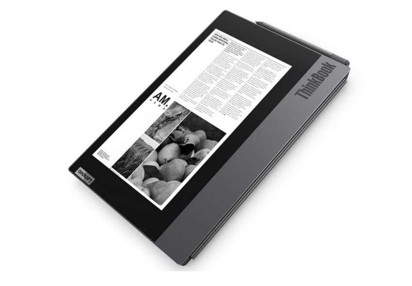 صورة لينوفو تكشف عن لابتوب بشاشة تدعم الحبر الإلكتروني – معرض CES 2020