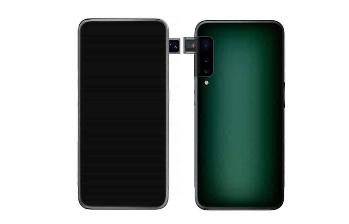 صورة اوبو تخطط لاطلاق هاتف بكاميرا منبثقة من الجانب