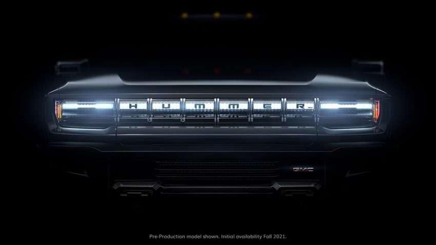صورة جنرال موتورز تعمل على سيارة هامر كهربائية بالكامل