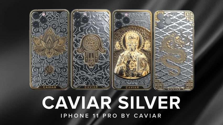 صورة كافيار تعلن عن هواتف ايفون 11 من الفضة والذهب لمواجهة كورونا