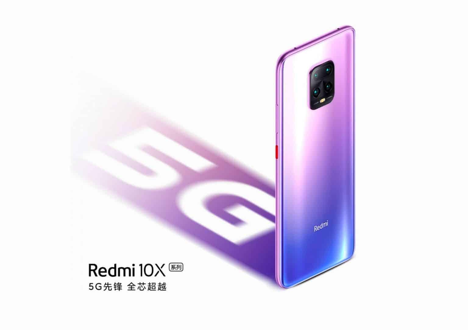 صورة ريدمي اكس 10 – Redmi X10 | أول هاتف 5G يدعم شريحتي اتصال