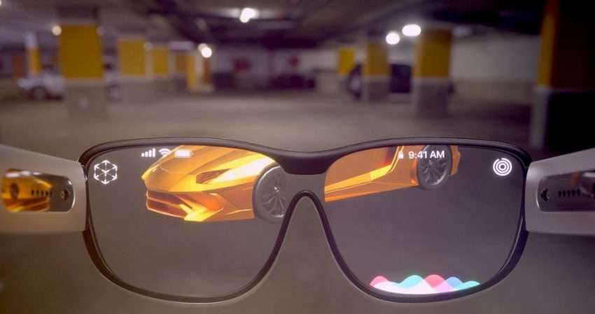 نظارة ابل