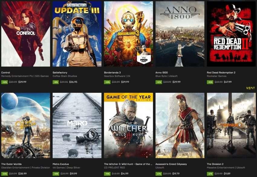 صورة تخفيضات هائلة من Epic Games تعود مرة أخرى وبشكل أفضل