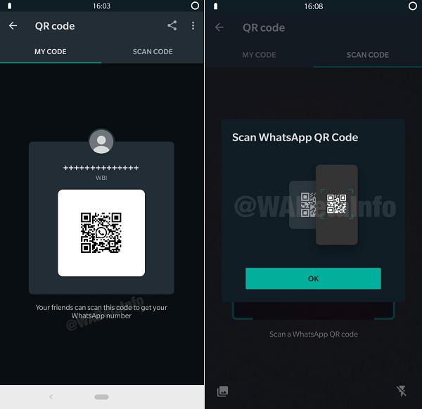 صورة واتساب يخطط لإطلاق ميزة إضافة الحسابات عبر QR Code