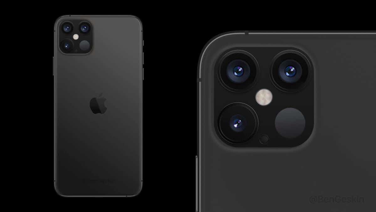 صورة ايفون 12 سيدعم تصوير مقاطع فيديو بدقة 4K