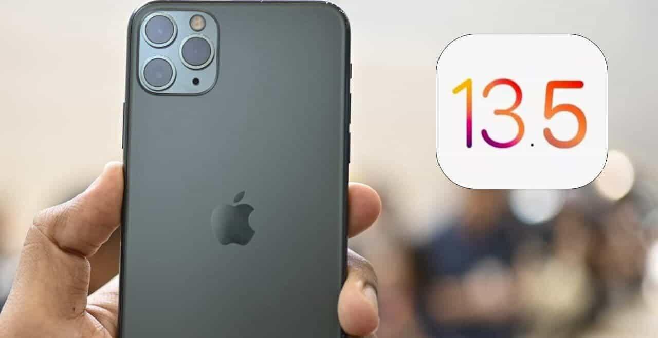 صورة آبل توصي مستخدمي ايفون بالتحديث إلى iOS 13.5