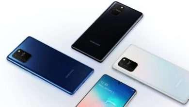 صورة سامسونج جالكسي اس 20 لايت Galaxy S20 Lite يظهر بستة ألوان مميزة في تسريب جديد