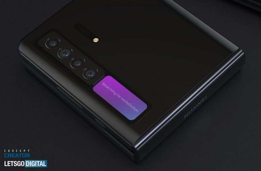 هواوي ميت في - Huawei Mate V | أول صور ثلاثية الأبعاد