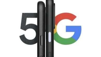 صورة جوجل بكسل 5 Google pixel 5 بشاشة كبيرة ومعدل تحديث 120 هرتز