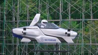 صورة شركة يابانية تنجح في أول تجربة سيارة كهربائية طائرة مأهولة