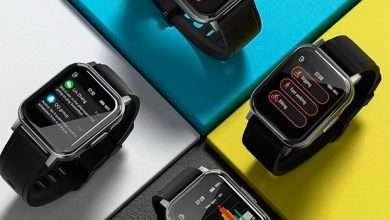 صورة هونر تعمل على ساعة ذكية مشابهة لساعة Huawei Watch Fit