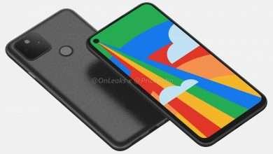 جوجل بكسل 5 Google Pixel يظهر في أول فيديو ثلاثي الأبعاد