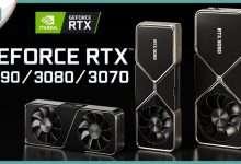 صورة كرت الشاشة RTX 3090 و RTX 3080   المواصفات والسعر بالتفصيل