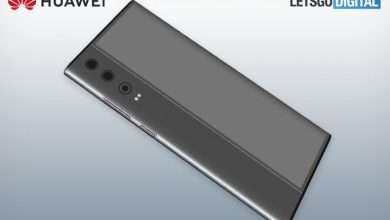 هواوي تسجل براءة اختراع لهاتف بشاشة ملتفة