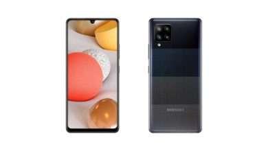 صورة جالكسي اى 42 -Galaxy A42 أرخص هاتف من سامسونج يدعم 5G