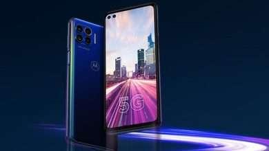 صورة تسريب مواصفات هاتف موتورولا الاقتصادي الجديد Motorola Kiev 5G