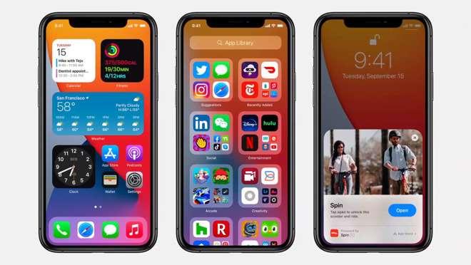 رسميًا: آبل تعلن إطلاق iOS 14 غدًا للمستخدمين
