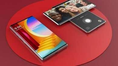 صورة ال جي وينج LG Wing تسريبات تكشف تصميم الجهة الخلفية للهاتف