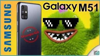 صورة جالكسي ام 51 – Galaxy M51 رسميا | ببطارية 7000 ميلي امبير