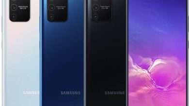صورة سامسونج جالكسي اس 10 لايت Galaxy S10 Lite يحصل على تحديث One UI 2.5