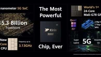 صورة Huawei أمام خطر عدم قدرتها على تزويد أجهزتها بمعالجات Kirin 9000