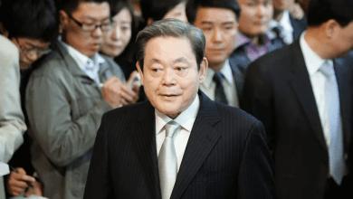 صورة وفاة رئيس سامسونج لي كون هي عن عمر يناهز 78 عام