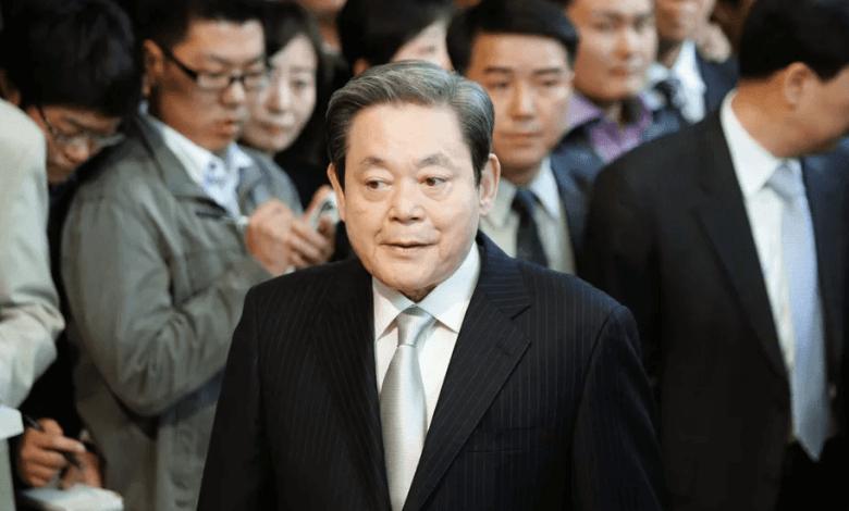 وفاة رئيس سامسونج لي كون هي عن عمر يناهز 78 عام
