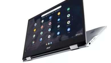 صورة لابتوب ايسر كروم بوك Chromebook الأول قادم بمعالج Snapdragon 7c وتكلفة منخفضة