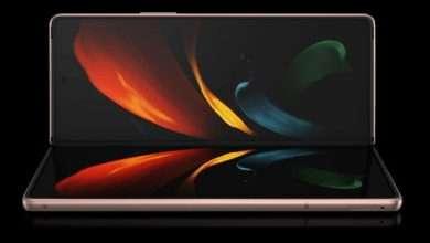 صورة سامسونج جالكسي دبليو 21 5 جي – Galaxy W21 5G يظهر بلون ذهبي في أول صور للهاتف