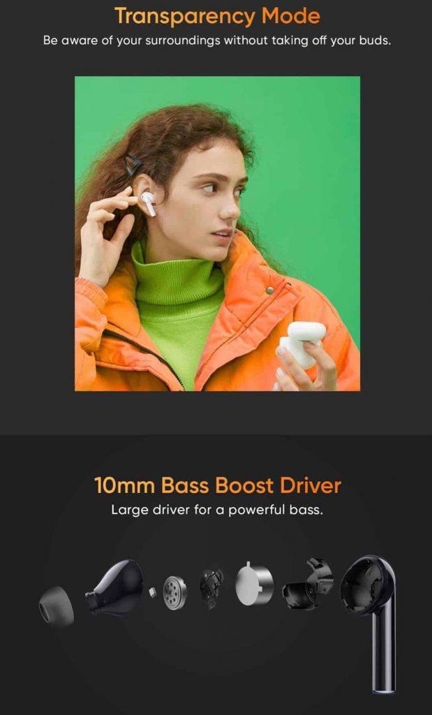ريلمي بودز اير برو Realme Buds Air Pro سماعة لاسلكية عازلة للضوضاء قادمة قريبا