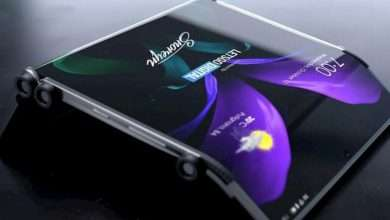 صورة براءة اختراع من سامسونج لهاتف جديد بميزة الطي المزدوج Galaxy Z Dual Fold