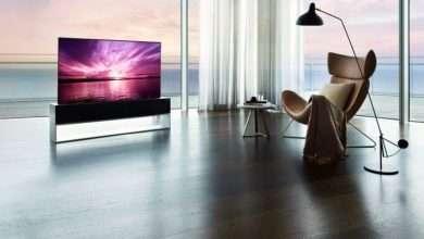 صورة شاشة LG قابلة للطي بسعر 87 ألف دولار أمريكي