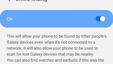 صورة سامسونج تطور ميزة البحث دون الاتصال لتطبيق Find My Mobile