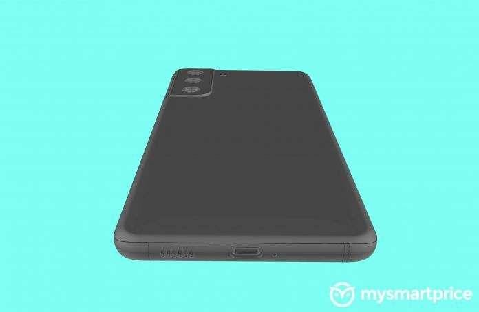 سامسونج جالكسي اس 21 بلس +Samsung Galaxy S21 يعاود الظهور في صور مسرّبة ثلاثية الأبعاد